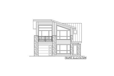 plan 80878pm dramatic contemporary with second floor deck dramatic contemporary with second floor deck 80878pm