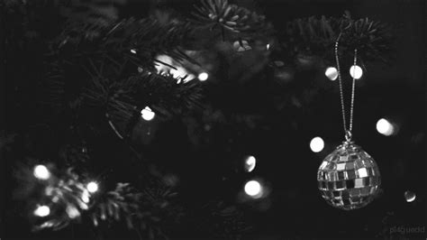 black gif xmas black and white gif find on giphy