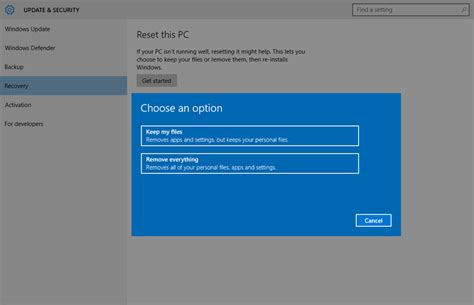 resetter l200 windows 10 how to factory reset windows 10 remove bloatware in