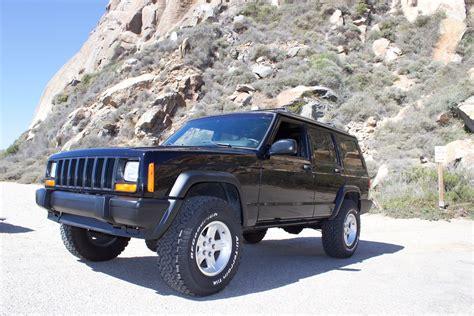 cherokee jeep xj jeep cherokee xj custom spoiler spoilerlight type i