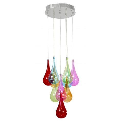 Coloured Pendant Lights Niro 10multi Pendant Ultra Modern Pendants Muti Coloured Pendant