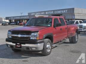 Chevrolet Silverado 3500 For Sale 2004 Chevrolet Silverado 3500 Lt For Sale In Cleburne