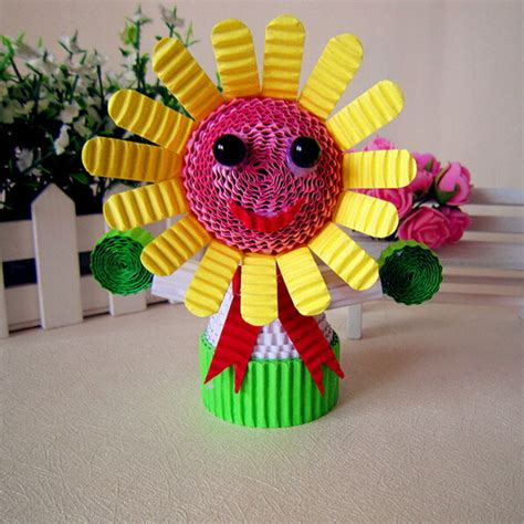 Colored Paper Crafts - paper crafts amazinghandicrafts