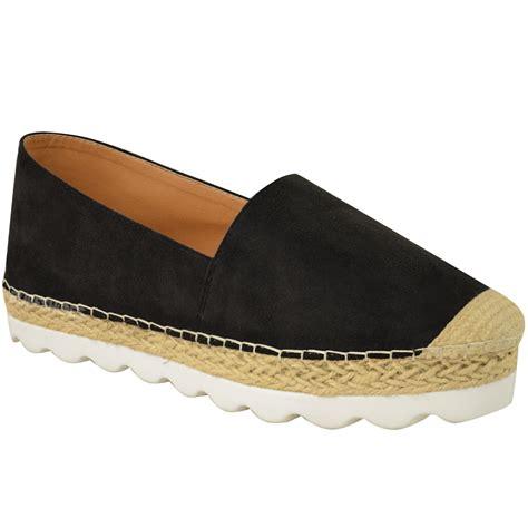 flat wedge shoes womens flat espadrilles moccasians flatforms deck
