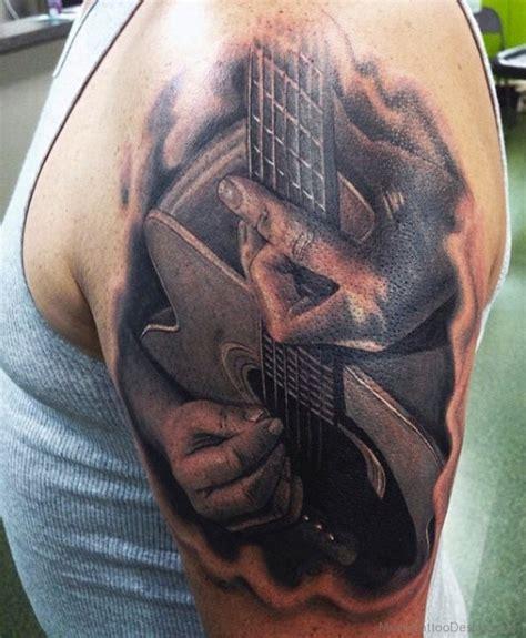 fabulous tattoo designs 50 fabulous guitar tattoos on shoulder