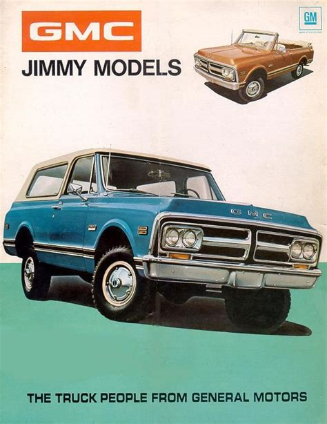 old car manuals online 2000 gmc jimmy free book repair manuals directory index gm trucks and vans 1972 trucks and vans