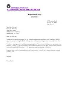 Rejection Letter After Background Check Sle Rejection Letter After The Contoh 36