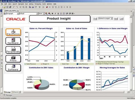 oracle bi beans feature overview