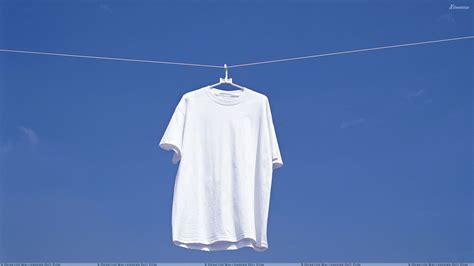 Wallpaper Background T Shirts   white t shirt hanging n blue background wallpaper