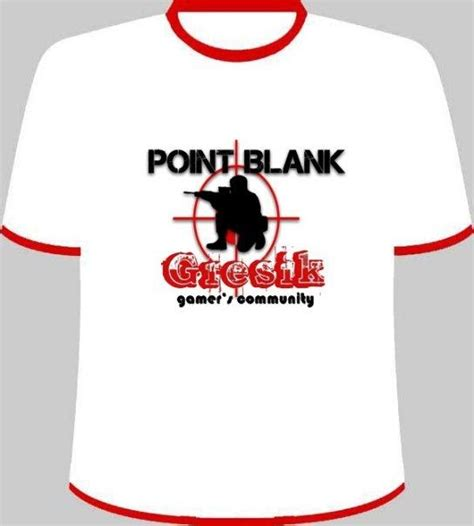 T Shirt Ponit Balnk t shirt point blank edition part 3
