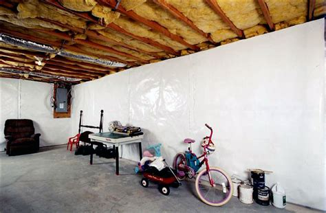 best vapor barrier for basement walls the cleanspace wall basement vapor barrier system vapor