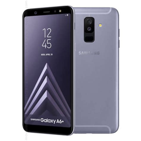 samsung a6 samsung galaxy a6 plus 2018 lilac purple 32gb and 3gb ram 8801643339692 movertix mobile