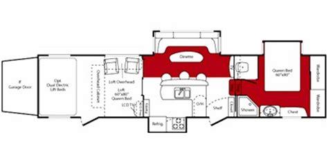 fuzion floor plans 2009 keystone rv fuzion fifth wheel series m 393 specs and