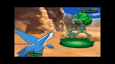 x and y rayquaza in x and y