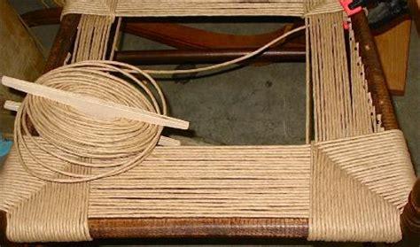 introducing diagonal cross pattern woven chair