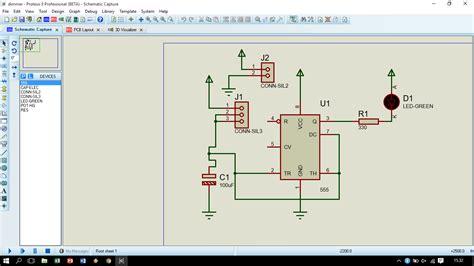 rangkaian dan layout running led membuat layout pcb rangkaian dimmer dan rangkaian running