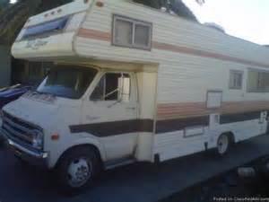 1979 dodge motorhomefor sale http www rollingcottage com