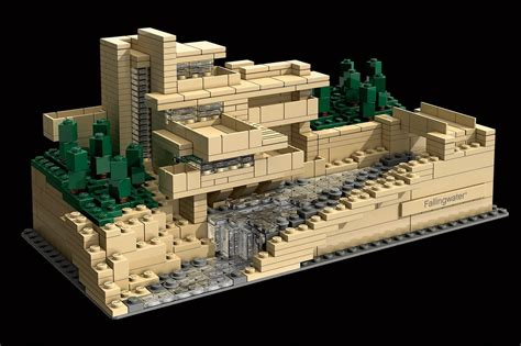 falling water architect michielvanderzanden blogspot com lego architecture