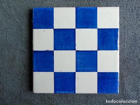 azulejos onda castellon antiguo azulejo decoraci 243 n en ajedrezado azul y comprar