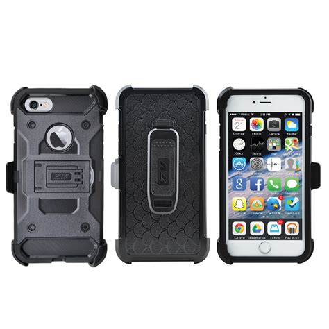 Grosir Iphone 7 Black Armor With Belt Clip Holster Hybrid Sta 1 for iphone 7 tough armor belt clip holster black