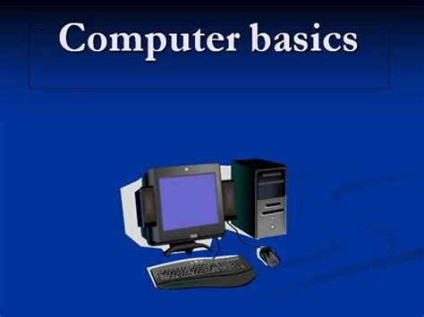 computer basics authorstream