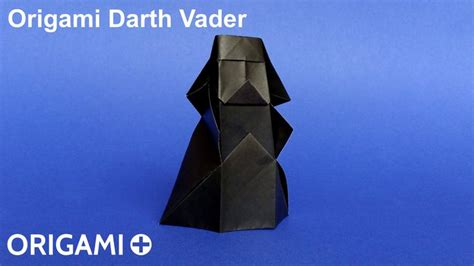 How To Make Origami Darth Vader Step By Step - best 20 origami darth vader ideas on