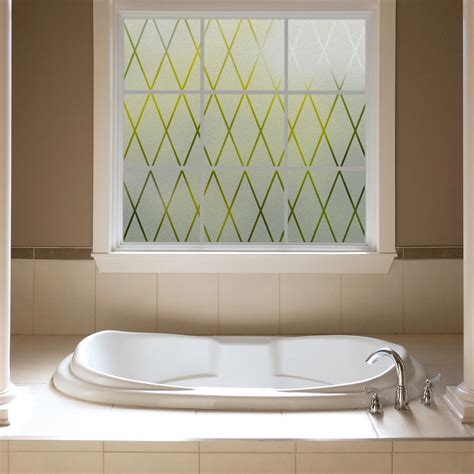 decorative window decals for home gila 174 frosted lattice privacy control d 233 cor window film