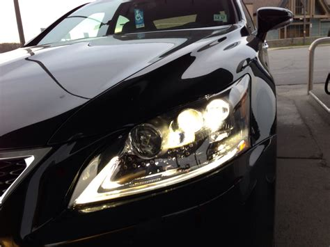 ls and lights 2013 ls460 led headlights 3 of them clublexus lexus