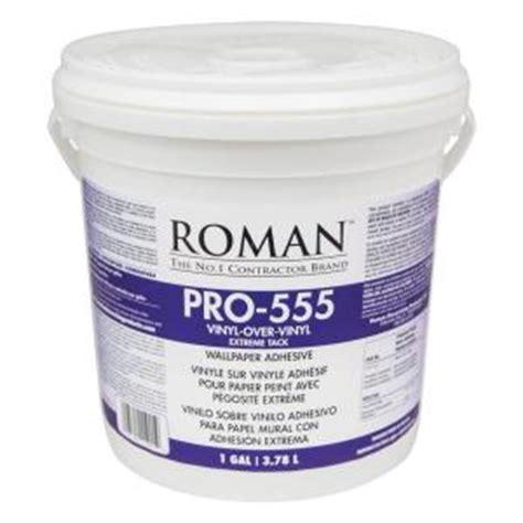 pro 555 1 gal tack wallpaper adhesive