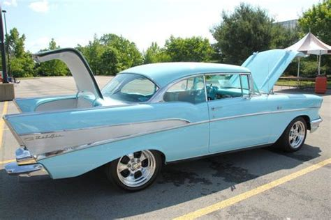 buy used 1957 chevy belair shown in ted nugent s mtv cribs