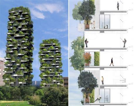 Vertical Garden Milan Bosco Verticale In Milan Will Be The World S