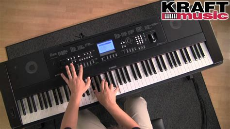 Yamaha Portable Grand Dgx 650b kraft yamaha dgx 650 portable grand digital piano