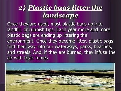 Plastic Bags What The Fuss Should Really Be About by Plastic Pollution Ppt