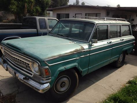1971 Jeep Wagoneer For Sale 1971 Jeep Grand Wagoneer V8 Auto For Sale In San