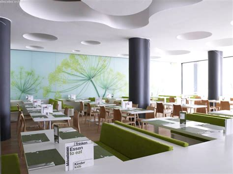 Nature Concept In Interior Design by Nat Bio Food Restaurant Interior By Eins Eins