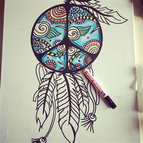 dream catcher doodle doodling dreamcatcher bohemian bohemian