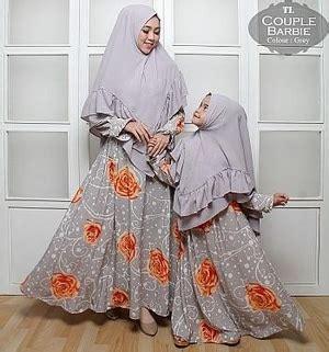 Setelan Ibu Dan Anak baju gamis ibu dan anak motif batik modern