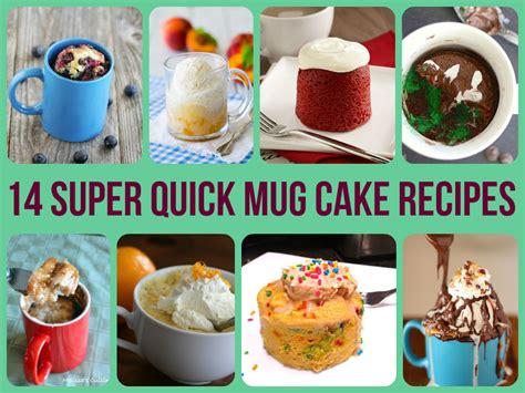14 Super Quick Mug Cake Recipes