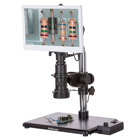 microscope with industrial inspection zoom monocular microscope with