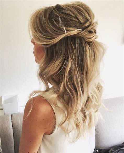Wedding Updos Hair Half Up Half by Half Up Hairstyles Wedding 2018 Hairstyles