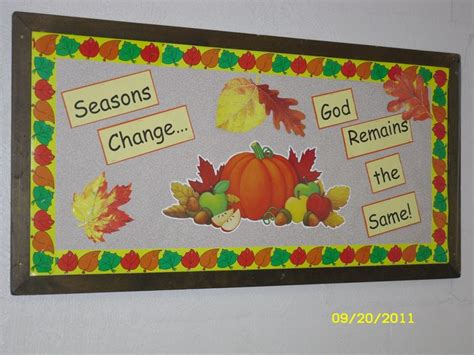 Seasons Board 17 best images about fall church bulletin boards on seasons beautiful and plays