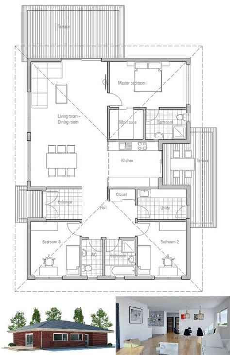 small economical house plans house plan affordable home floor plan from concepthome