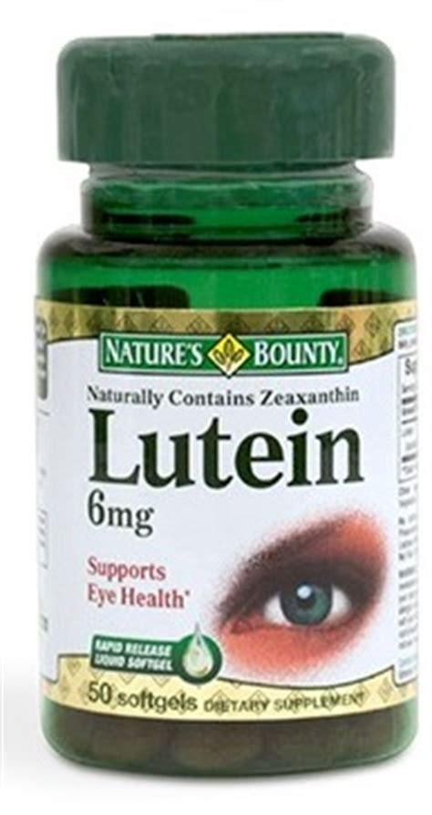 Suplemen Lutein can a lutein supplement save your nutrition