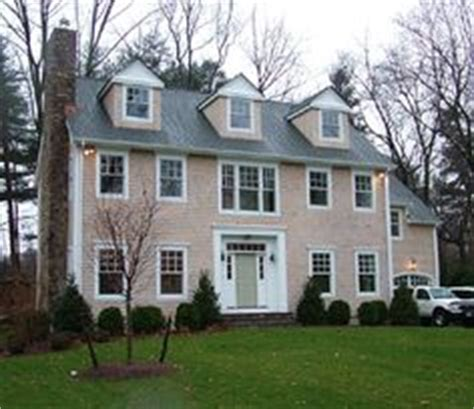 Colonial Homes With Dormers Colonial Homes On Traditional Exterior Black