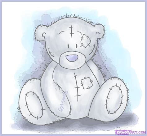 how to draw tatty teddy the me to you bear
