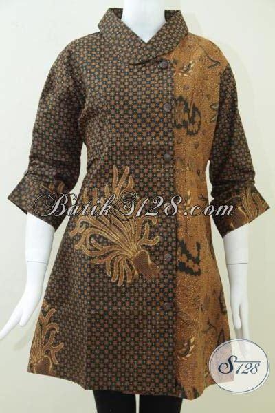 Baju Batik Pejabat Wanita baju dress wanita modern dress batik klasik wanita pejabat dr075bt l toko batik 2018