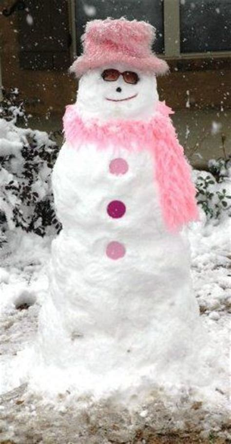 pink snowman pictures   images  facebook tumblr pinterest  twitter