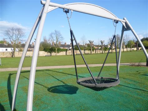round swing play area colchester castle park