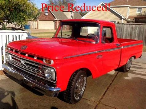 1966 Ford F100 For Sale by 1966 Ford F100 For Sale Classiccars Cc 921127