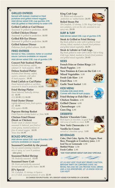 shrimp boat restaurant menu shrimp boat menu bing images